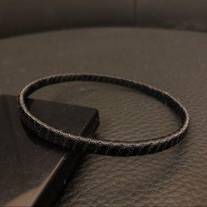 Jewelry - Satin Wrapped Bangle